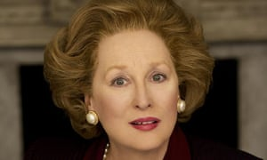 Streep plays Iron Lady