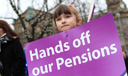 public sector pension strike