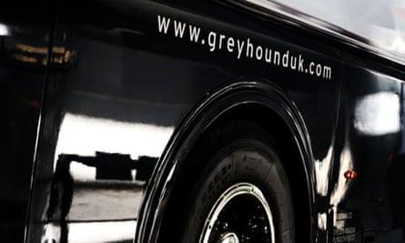 Greyhound bus, UK, FirstGroup