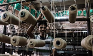 Indian Workerjute factory