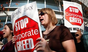 Activist Group Protests Outside Goldman Sachs DC Office