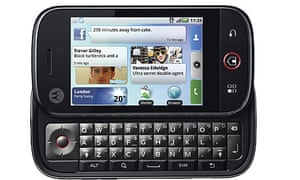 The Motorola Cliq, or Dext as it will be known when it is launched in Europe