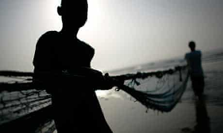 Fishermen near Accra. Ghana wants to use its newfound oil wealth to become an offshore tax centre