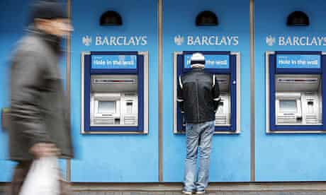 A Barclays branch in London. Customers may be hit by Obama's banking reforms