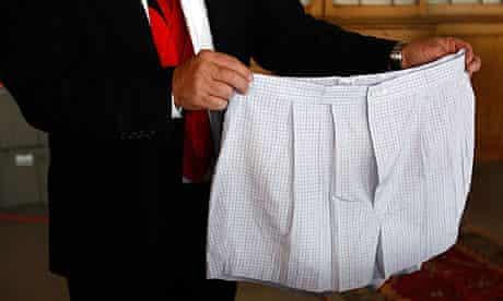 Bernard Madoff's pants