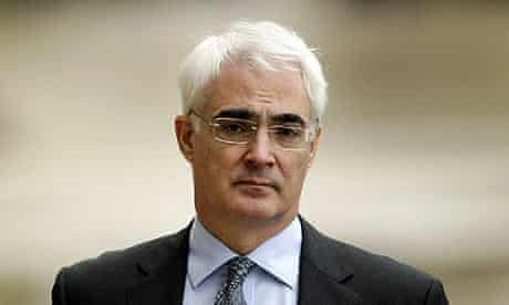 Chancellor of the Exchequer, Alistair Darling