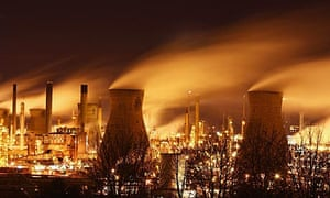 Grangemouth oil refinery, owned by Ineos