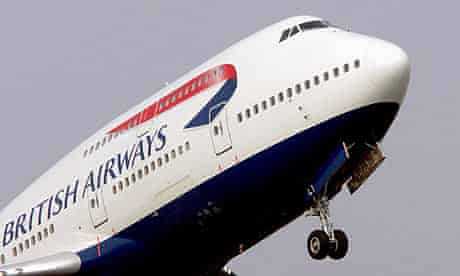 A British Airways plane. The airline is braced for industrial action.