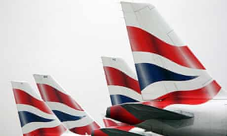 British Airways aeroplanes at Heathrow. Industrial action looks increasingly likely at the airline.
