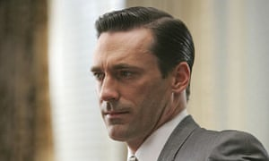 Don Draper (Jon Hamm), creative director for Sterling Cooper ad agency in Mad Men