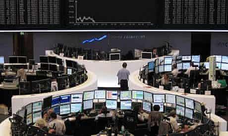 Frankfurt traders