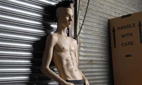 Rootstein's mannequins with 27in waists