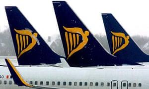 Ryanair returns to profit  Business  The Guardian
