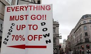 closing down