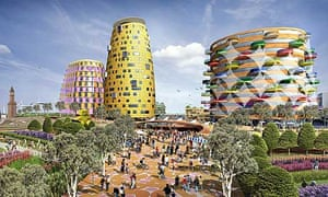 BioRegional Quintain's Middlehaven scheme in Middlesbrough, designed by architect Will Alsop