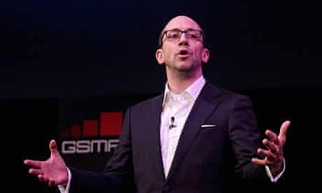 Twitter's CEO Dick Costolo at the GSMA Mobile World Congress in Barcelona