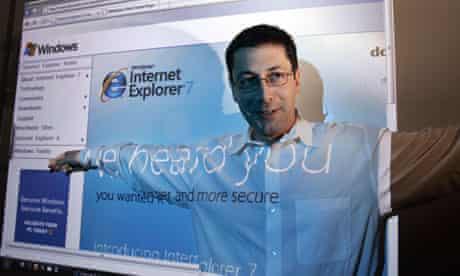 internet explorer 7 Dean Hachamovitch