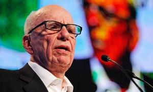Rupert Murdoch attends the eG8 forum in Paris
