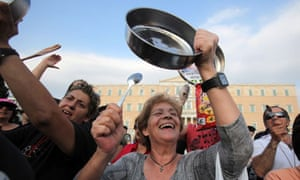 Greeks Continue Their Lives As They Struggle To Cope With Austerity Cuts After The Financial Crisis