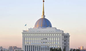 Kazakhstan: Presidential Palace in capital, Astana