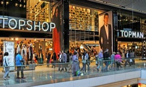 Topshop and Topman stores