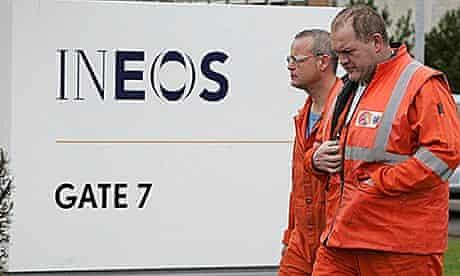 Ineos refinery at Grangemouth, Scotland