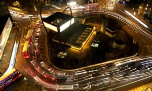 'Silicon Roundabout' in Old Street, east London