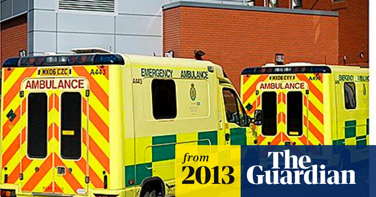 NHS plan to concentrate specialist A&E expertise in fewer