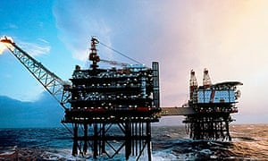 The decline in North Sea oil revenues has helped push up Britain's current account deficit