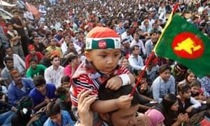 Shahbag square protest