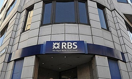 Royal Bank of Scotland's branch in central London