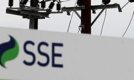 SSE faces record fine