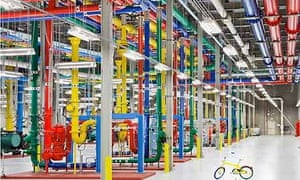 Google's data centre that powers the online world
