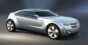 General Motors' Chevrolet Volt electric car. Photograph: EPA