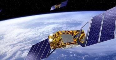 Galileo GPS satellite