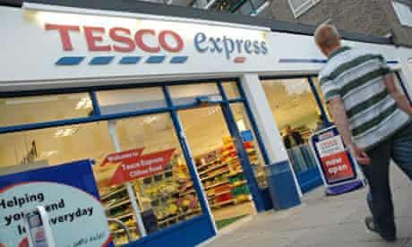Tesco Express supermarket