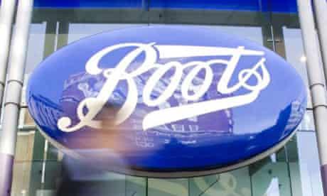 A Boots shop