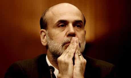 Ben Bernanke, hands in prayer