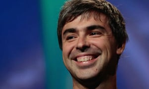 Google's Larry Page. Photograph: Chris Hondros/Getty Images