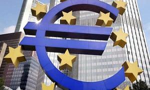 European Central Bank (ECB) headquarters. Photograph: Boris Roessler/EPA