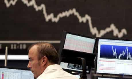 Stock market falls - Jan 08
