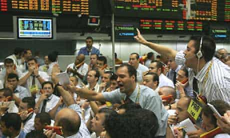 Stock market traders (Brazil)
