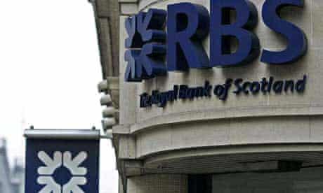 A Royal Bank of Scotland branch in London