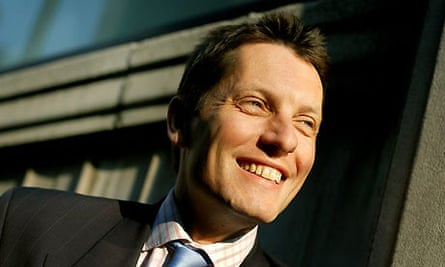 HBOS's Andy Hornby. Photograph: Sarah Lee