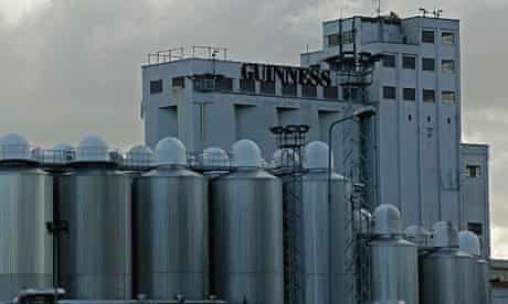 Guinness brewery in Dublin