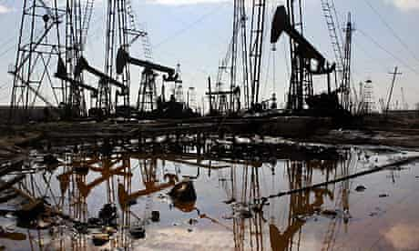 Oil. Photograph: Mladen Antonov/AFP/Getty Images