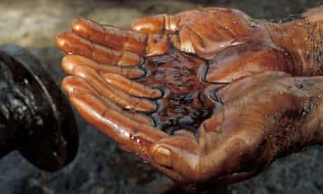 Oil. Photograph: Remi Benali/Corbis