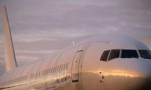 A Silverjet plane