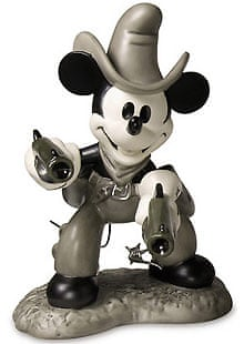 Mickey Mouse cowboy figurine