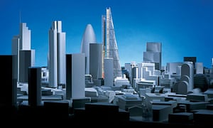 "Design for the ""Cheesegrater"", City of London"